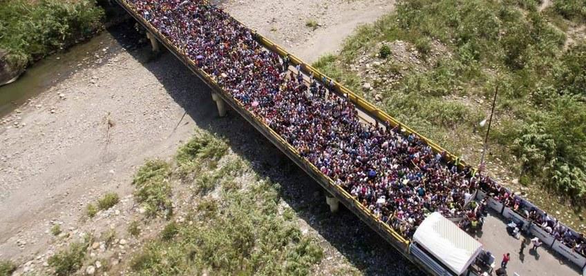 نصب دستگاه پاندابتم در مرز ونزوئلا و کلمبیا