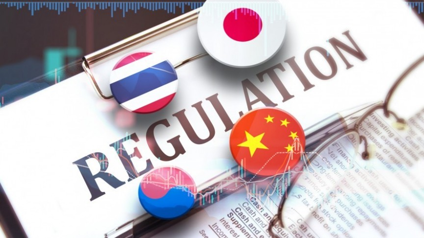 قانونگذاریهای مربوط به رمزارز در آسیا